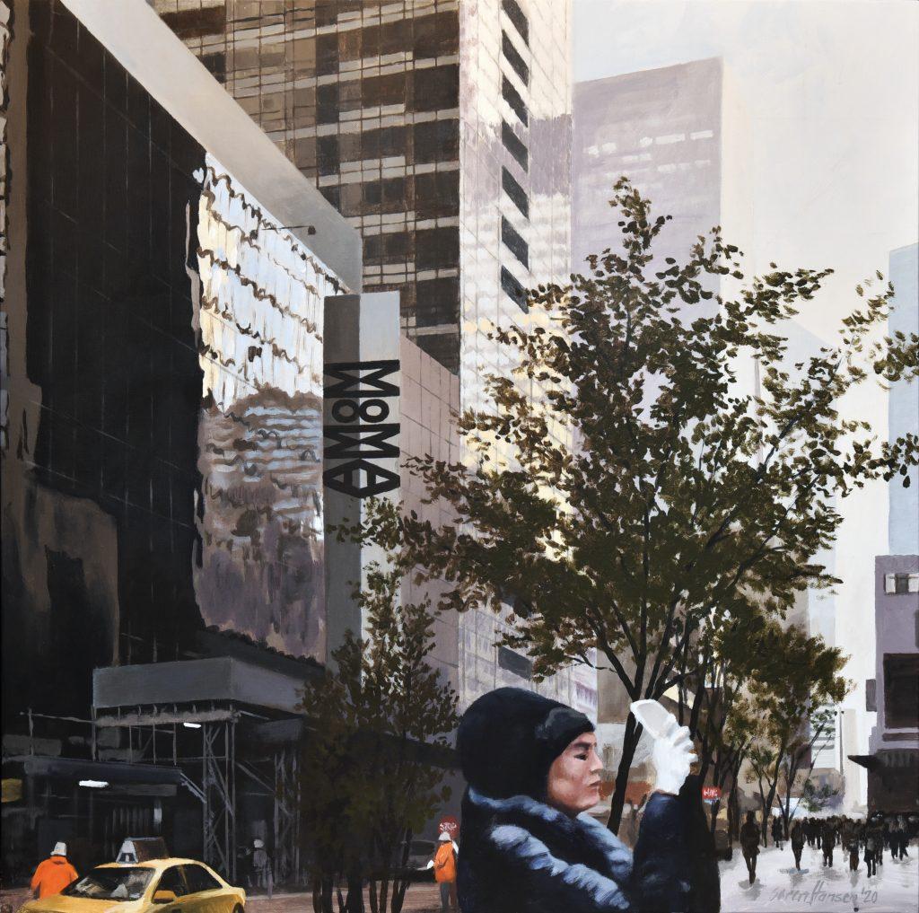 Håndholdt kunst på 53rd St.